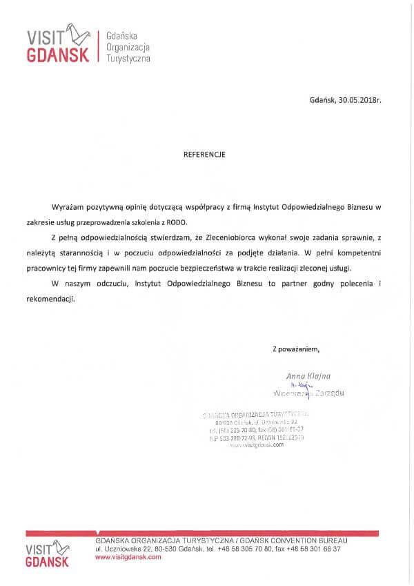 warsztaty IOD referencje gdansk